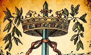 Corona con Spada