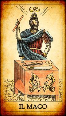 Carta dei Tarocchi Il Mago