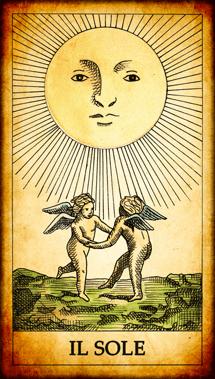 Carta dei Tarocchi Il Sole