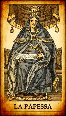 Carta dei Tarocchi La Papessa